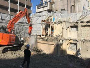 11月中に1Fまでの解体工事が終わります!