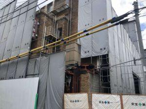 7月より解体工事を開始しました。